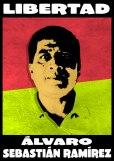 Campagne pour la liberation d'Alvaro Sebastian Ramirez